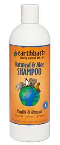 Earthbath Natural Oatmeal & Aloe Itch Relief Shampoo