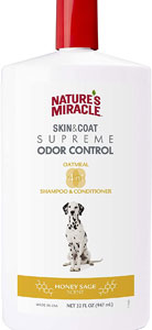 Nature's Miracle Supreme Odor Control Dog Shampoo