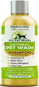 Pro Pet Organic Oatmeal Pet Shampoo