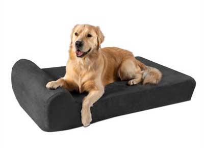 Big Barker Headrest Orthopedic Pillow Dog Bed