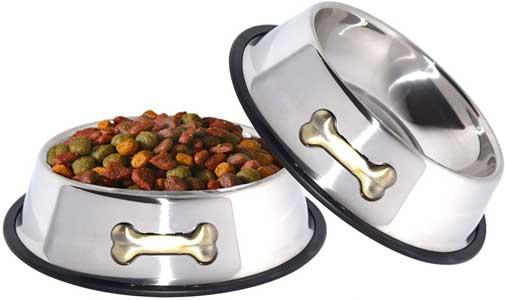 GPET Dog Bowl 32 Oz Stainless Steel Bowls