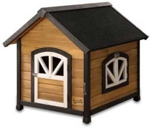 Pet Squeak Arf Frame Dog House Wooden